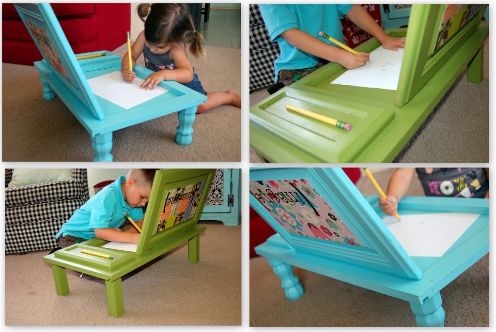 View In Gallery Cupboard Door Wonderfuldiy2 Wonderful Diy Art Desk For Kids