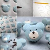 Wonderful DIY Cute Bear Macarons
