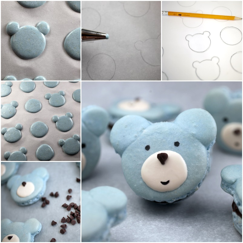 DIY Cute Bear Macarons wonderfuldiy Wonderful DIY Cute Bear Macarons