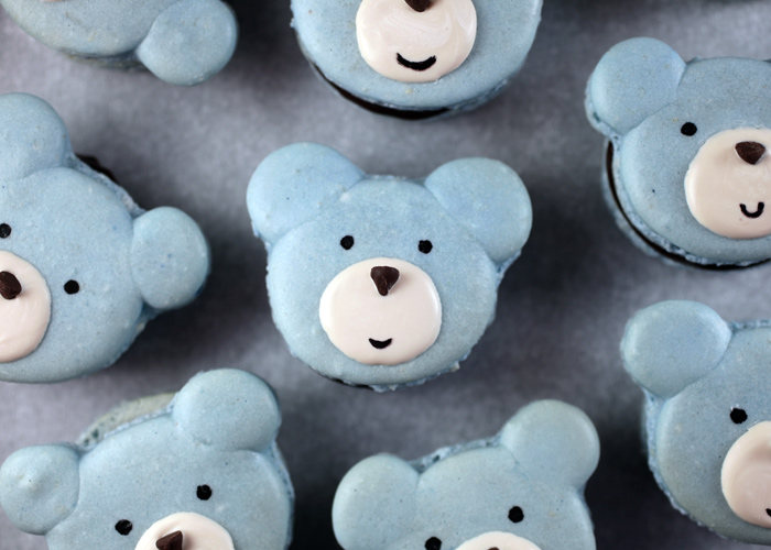 DIY Cute Bear Macarons wonderfuldiy1 Wonderful DIY Cute Bear Macarons
