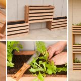 Green DIY: Craft Your Own Vertical Vegetable Garden That Takes up Little Space