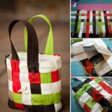 Wonderful DIY Lovely Woven Zipper Bag