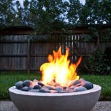 Fiery DIY: Make Your Own Super-Cool Modern Concrete Fire Pit