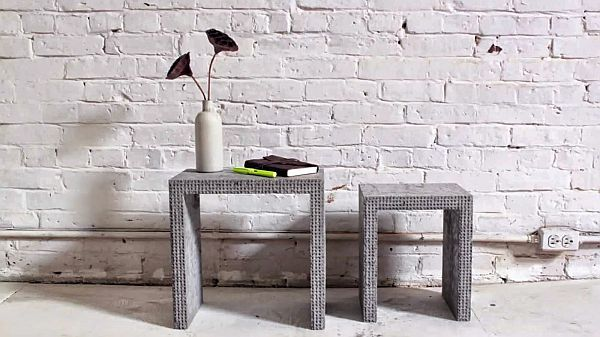 Easy DIY Concrete nesting tables Idea Using Lego Bricks to Create These Awesome DIY Concrete Nesting Tables!