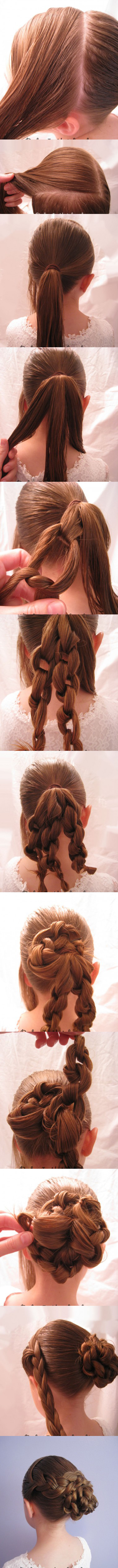 Oh-So-Simple-Bun-Hairstyles-Tutorials-Braided-Knotted-Bun