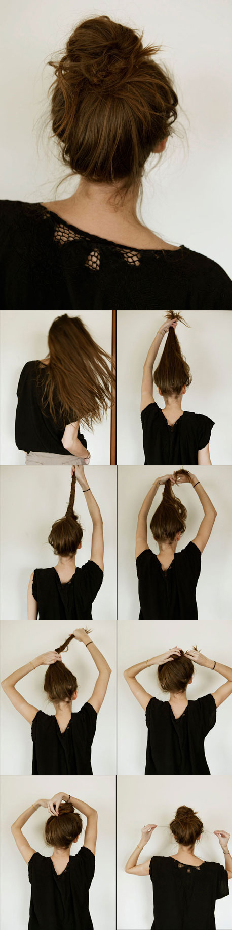 Oh-So-Simple-Bun-Hairstyles-Tutorials-Messy-Bun