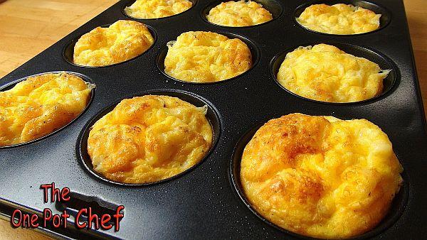 Oven Baked mini Omelets