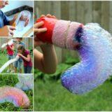 Wonderful DIY Funny Rainbow Bubble Snake
