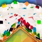 Rainbow Jell-O Cake: When Baking Meets Bejeweled Magic!