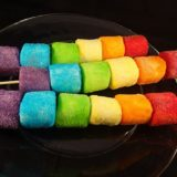 Colorful Treat: Easy-to-Make Marshmallow Rainbow Squisharoos
