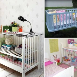 10 Best Ways to Repurpose  Baby Cribs