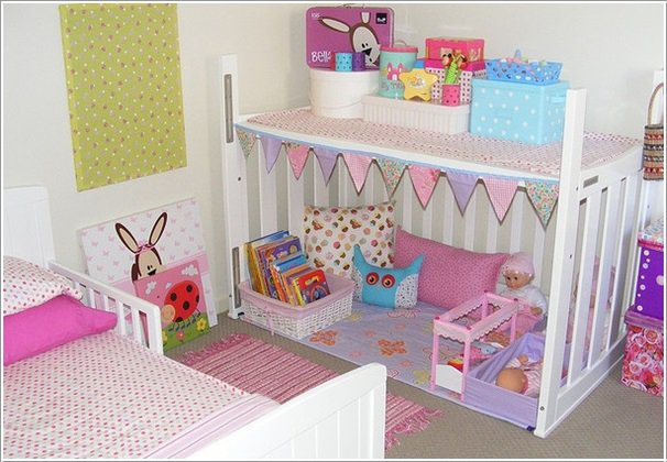 Re-purpose Baby Cribs3