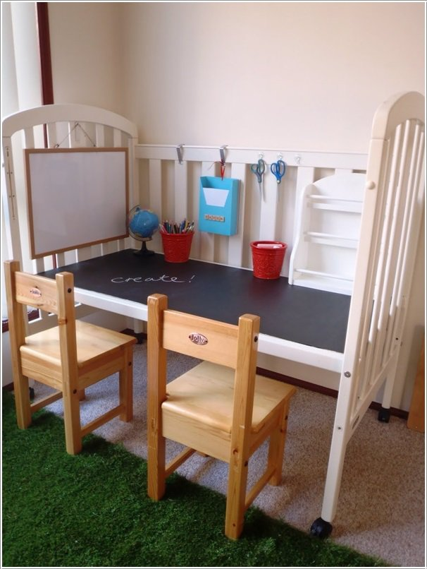 Re purpose Baby Cribs4 10 Best Ways to Repurpose  Baby Cribs