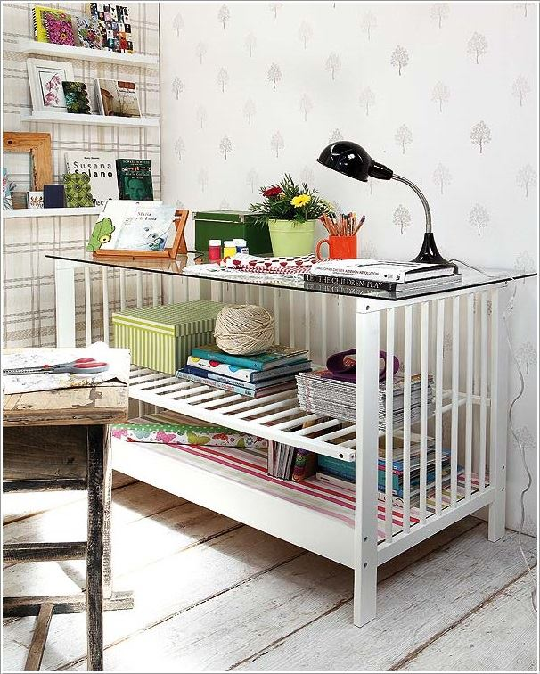 Repurposed-Baby-Cribs 8