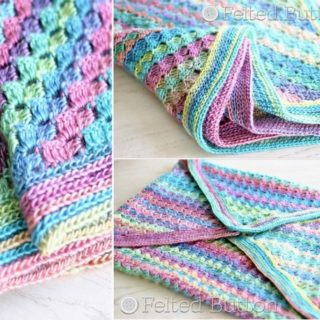 Wonderful DIY Crochet Spring Into Summer Blanket