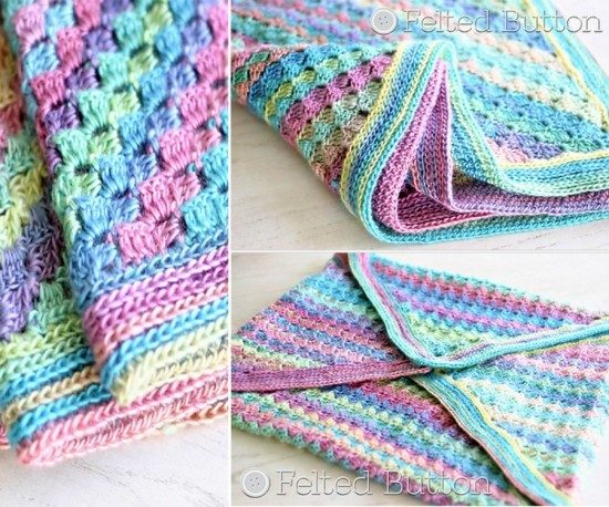 6fad0f9cf6 Wonderful DIY Crochet Spring Into Summer Blanket