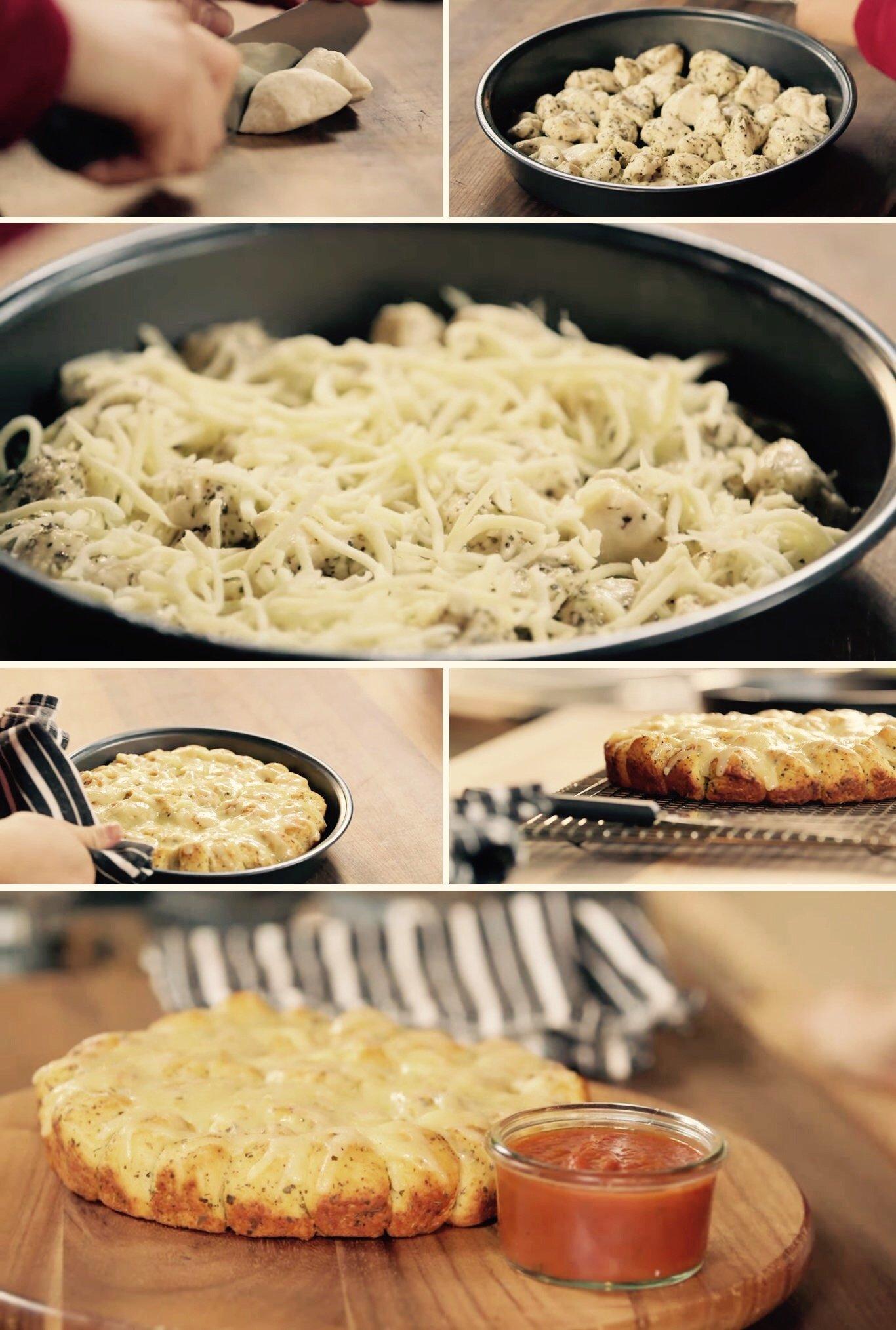 Tasty parmesan garlic bread Quick & Easy Way to Make Lip smacking Parmesan Garlic Monkey Bread