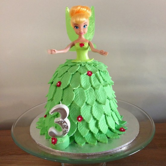 Wonderful Diy Tinkerbell Pinata Cake