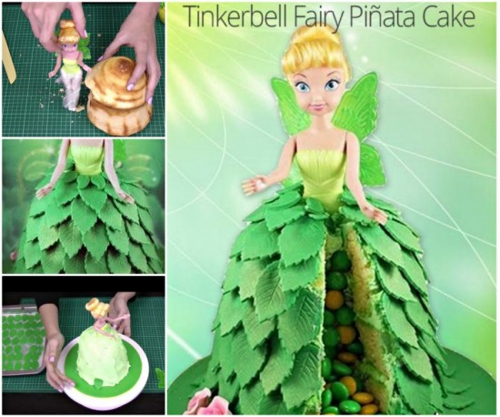 Tinkerbell-Pinata-Cake-Tutorial-550x458