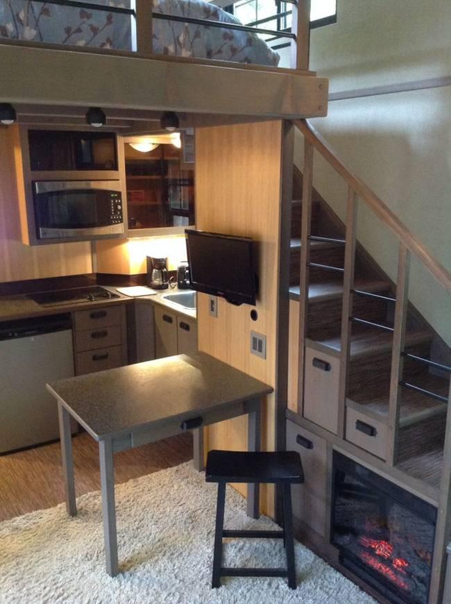 Tiny house - kitchen design