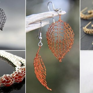 Wonderful DIY Wire Crochet Jewelry [Free Pattern]