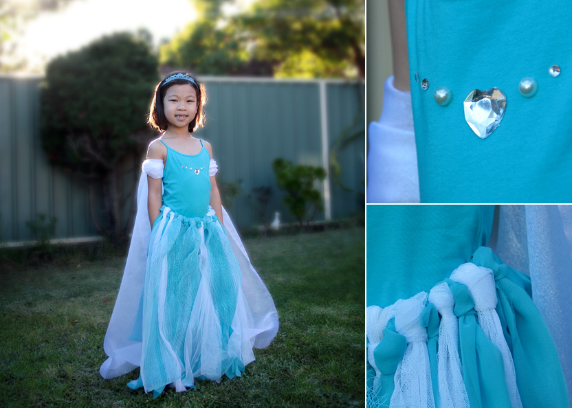 VIEW IN GALLERY diy frozen dress wonderfuldiy Wonderful DIY no Sewing Frozen Elsas Dress  sc 1 st  Wonderful DIY & Wonderful DIY no Sewing Frozen Elsau0027s Dress