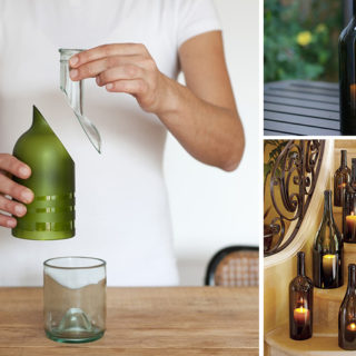 Super-Easy Way to Cut a Wine Bottle with String and Nail Polish Remover