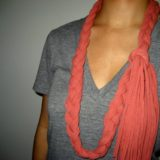 Mother's Day Craft: Upcycle that Old T-Shirt into an Awesome Scarf