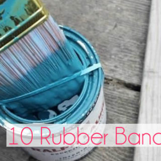 10 Ways to Put Those Stacks of Rubber Bands to Good Use
