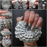 Wonderful DIY Soda Tab Flower Coin Purse