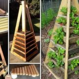 Vibrant DIY Vertical Garden Pyramid Planter