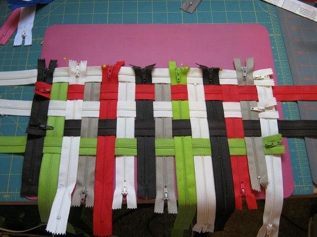 zipper bag 1 Wonderful DIY Lovely Woven Zipper Bag