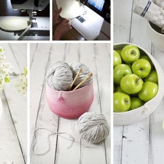 How to Make a Gorgeous Coiled Rope Basket at Home
