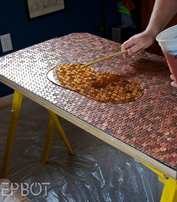 Crafting your own DIY Penny Table