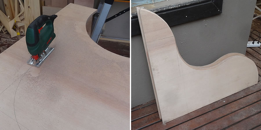 DIY Love Seat – step1