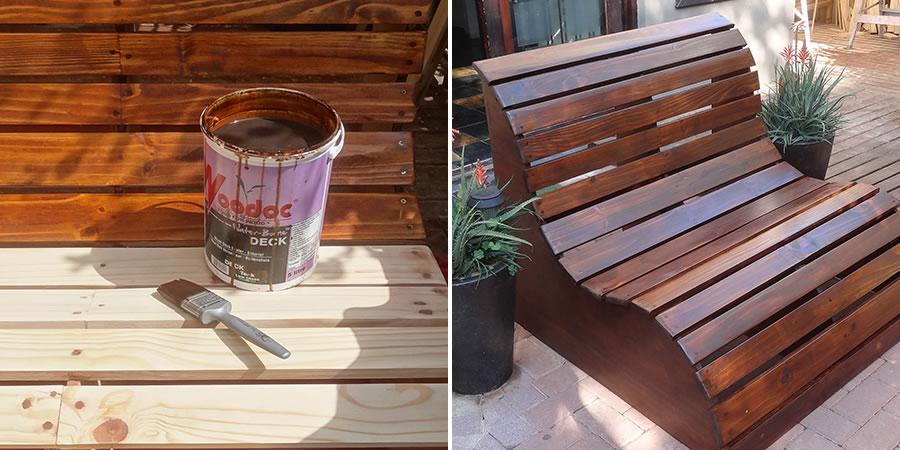 DIY Love Seat