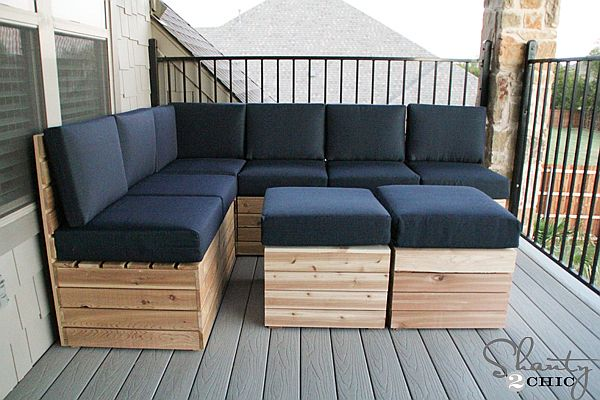 Comfy Amp Versatile Diy Modular Outdoor Seating