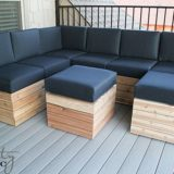 Comfy & Versatile DIY Modular Outdoor Seating