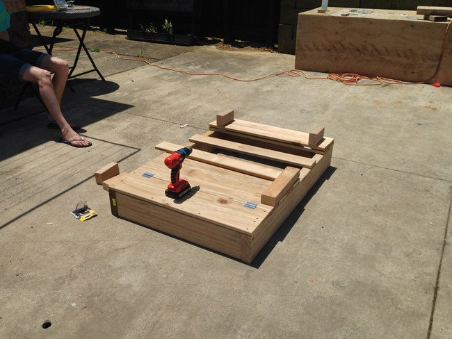DIY sandbox - tools