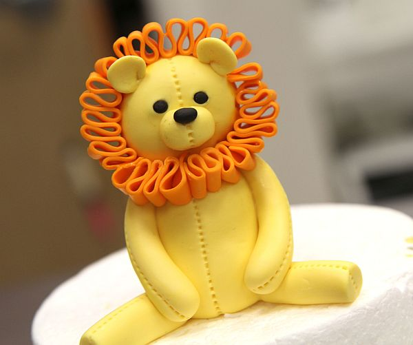 Lion Cake Topper Tutorial Cuddly Royalty: How to Make a Cute Lion Cake Topper