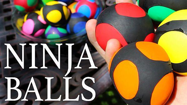 Ninja Squishy Balls DIY