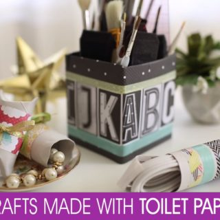 Toilet Paper Hacks: Organizing Home Stuff in Style