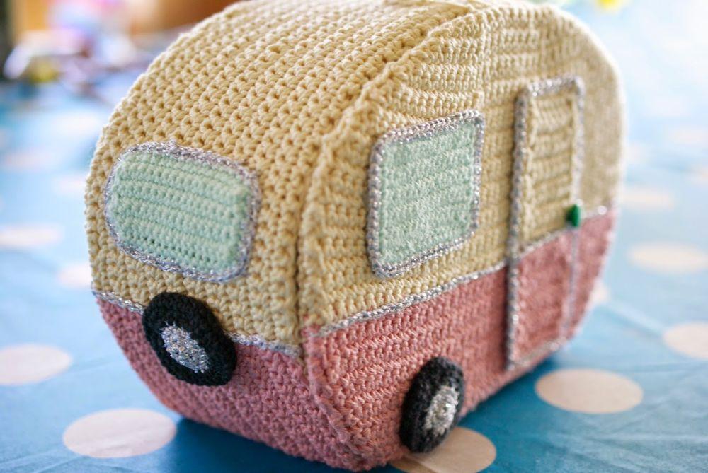 Crochet caravan  - DIY building