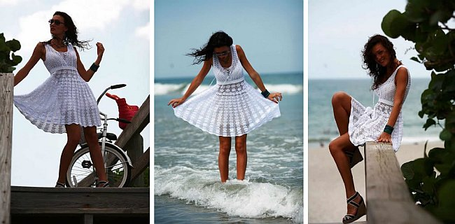 Crochet summer dress DIY pattern Amazing DIY Crochet Summer Dresses