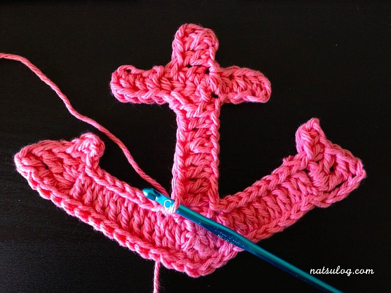 Large Crochet Anchor Design DIY Large Crochet Anchor Design For Nautical Style
