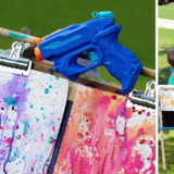 Fun Art: Squirt Gun Painting With Kids