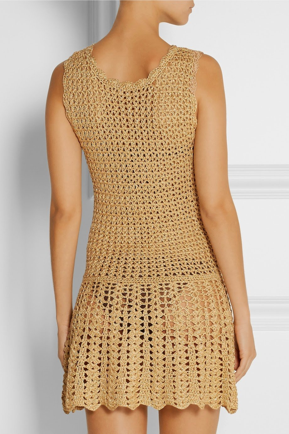 beautiful crochet dress for summer