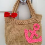 DIY Large Crochet Anchor Design For Nautical Style