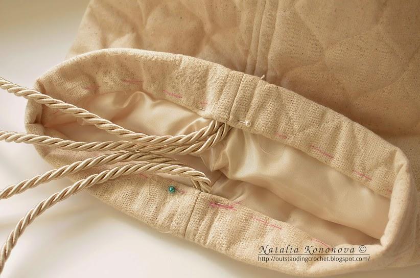 crochet tote bag handlers