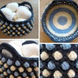 Ultra Versatile DIY Crochet Honeycomb Pop Basket